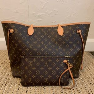 Louis Vuitton Neverfull GM with Box and Receipt